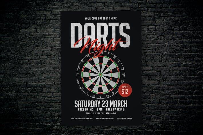 Thumbnail for Darts Night Flyer