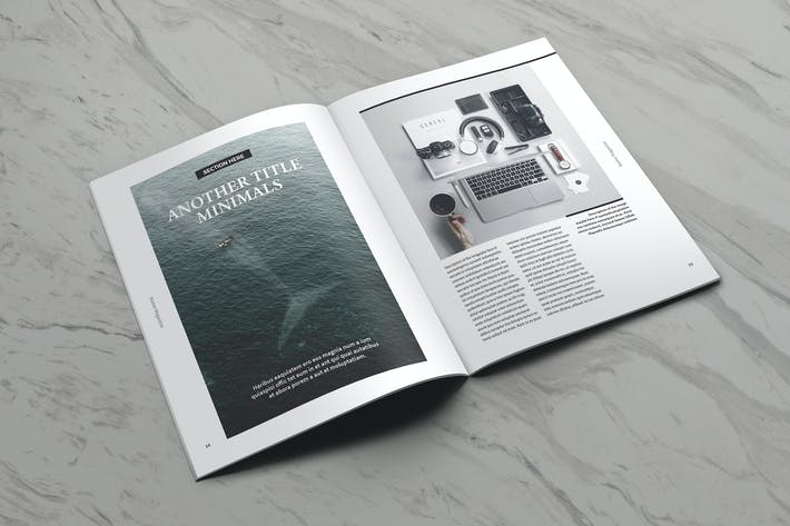 Cover Image For Moore Indesign Magazine Template