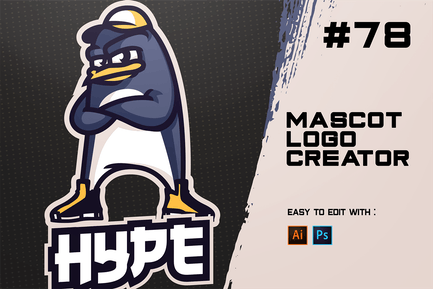 HYPE - Créateur de Logo E-Sports