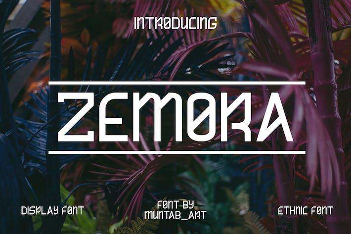 Thumbnail for Zemora | Fuente Moderna