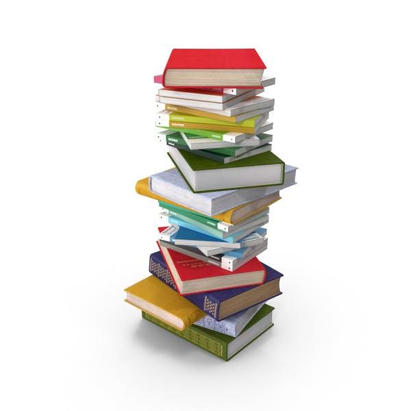 Pila Corto de libros