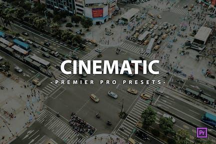 Cinematic Premier Pro Video Presets