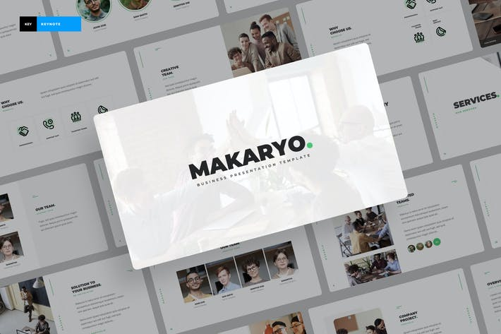 Thumbnail for Makaryo - Corporate Business Keynote