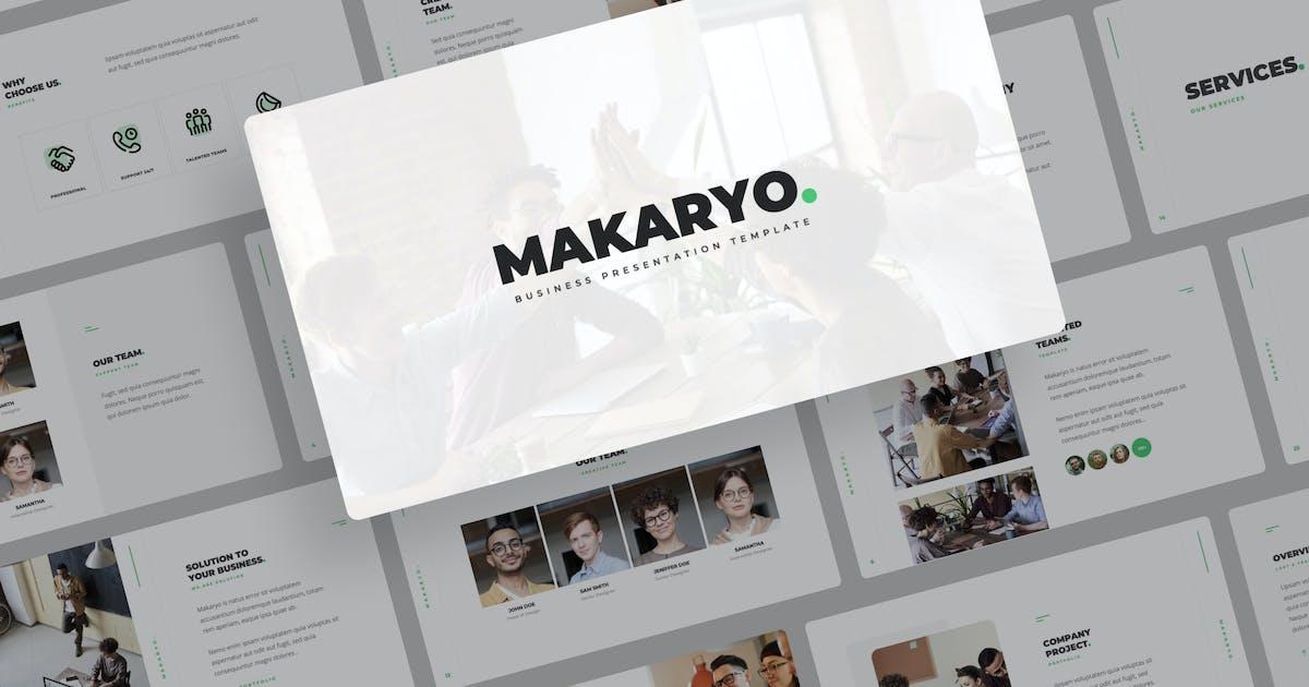 Download Makaryo - Corporate Business Keynote by mhudaaa