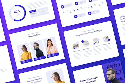 Projection PowerPoint Template