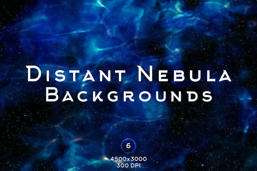 Distant Nebula Backgrounds