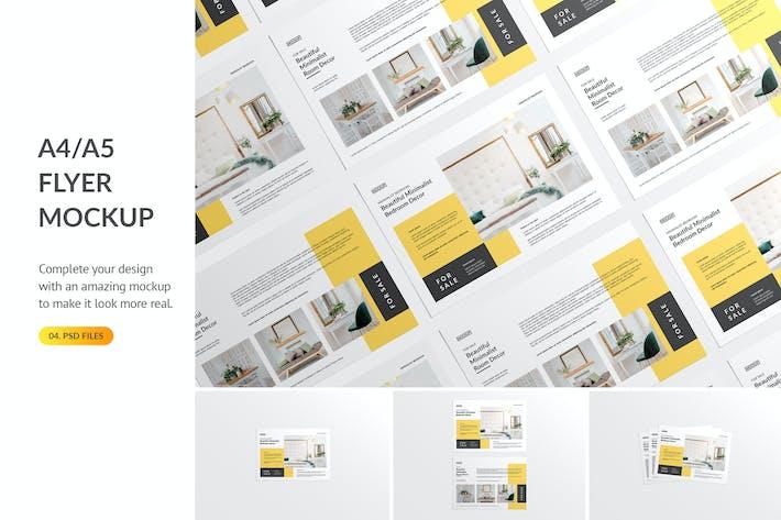 Thumbnail for Landscape Flyer Mockup