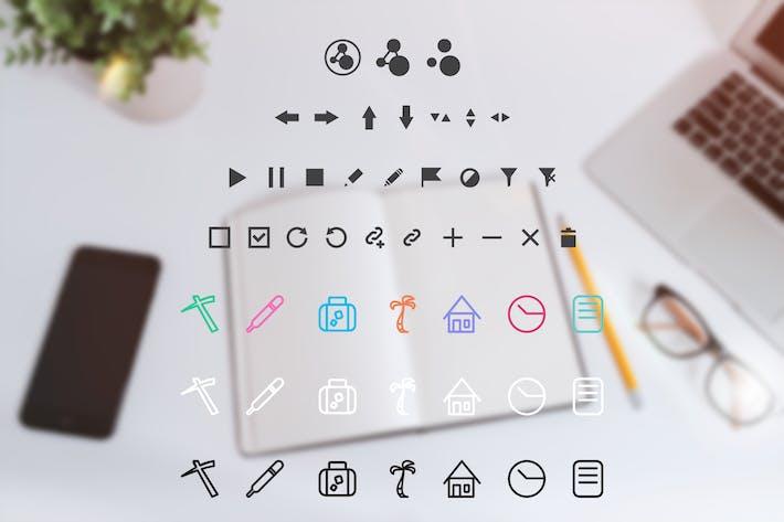 Thumbnail for Icones de Appli Web