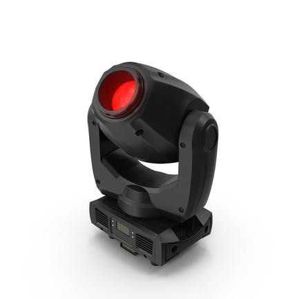 Red Spot Stage Light