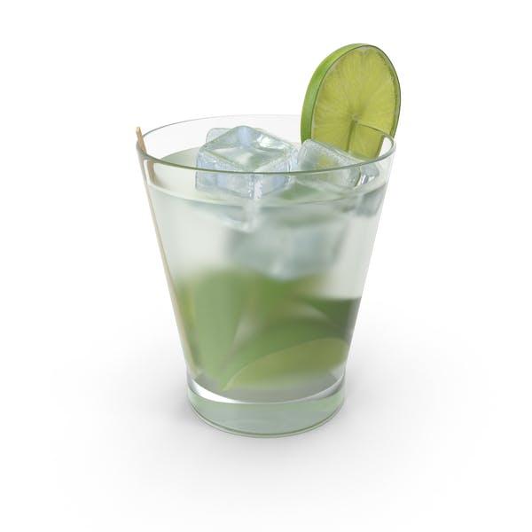 Cocktail Caipirinha Brazil