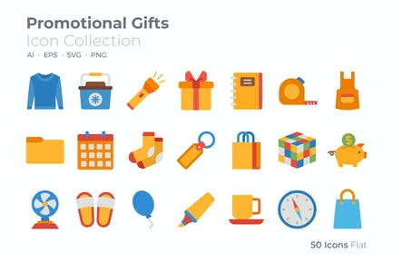 Promotional Gifts Color Icon