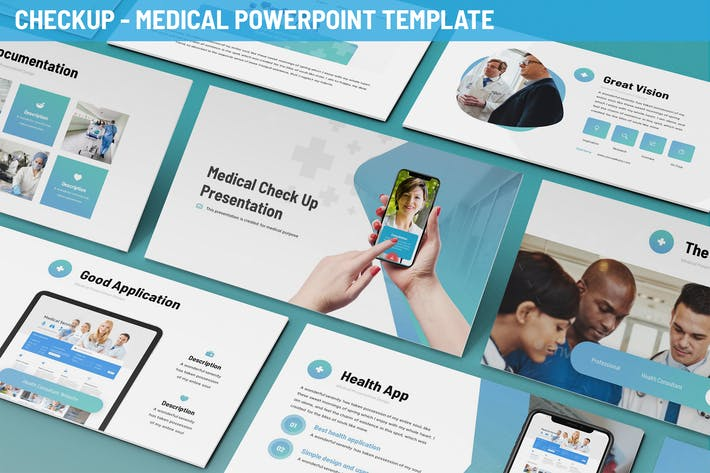 Thumbnail for Checkup - Medical Powerpoint Template