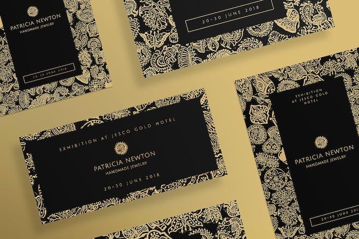 Thumbnail for Выставка ювелирных изделий ручной работы Листовки