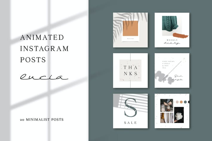 Thumbnail for ANIMATED Instagram Posts – Lucia