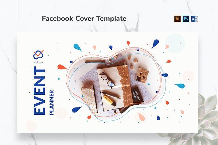 Couverture Facebook Planificateur d'événements