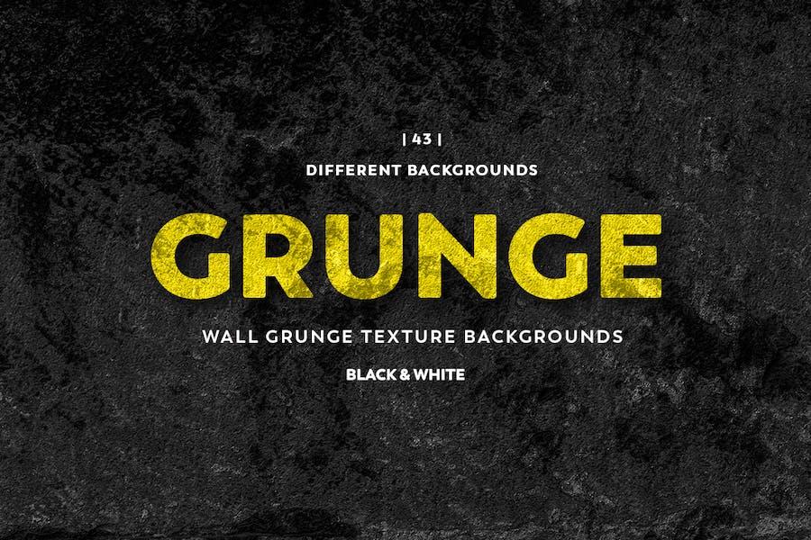 Wand-Grunge-Textur Hintergründe