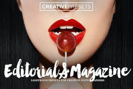 Editorial / Magazine Lightroom Presets