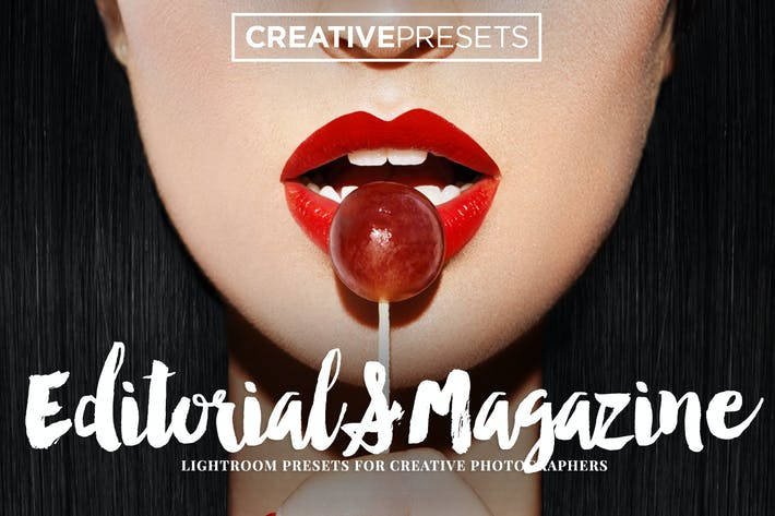 Cover Image For Editorial/Revista Ajustes preestablecidos de Lightroom