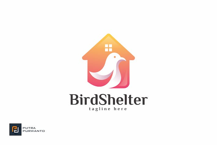 Thumbnail for Bird Shelter - Logo Template