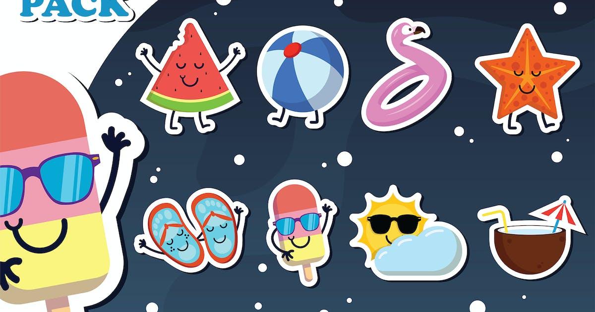 Download Summer Stickers by uicreativenet
