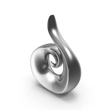Abstract Steel Figure