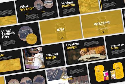 IDEA Presentation Template