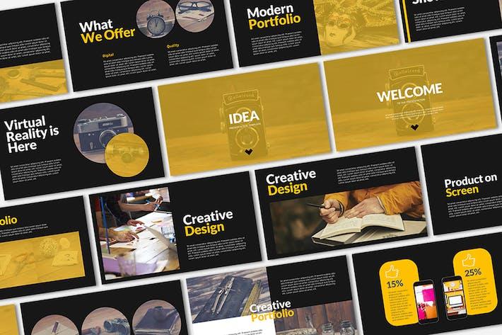 Thumbnail for IDEA Presentation Template