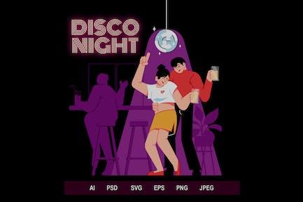 Night Club - Illustrations