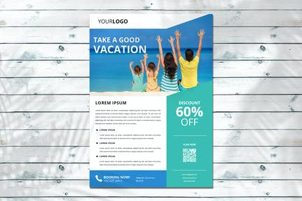 Urlaub Flyer