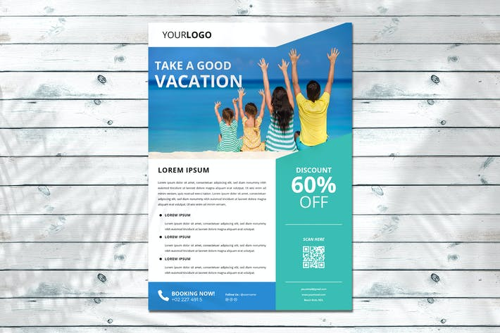 Thumbnail for Vacation Flyer