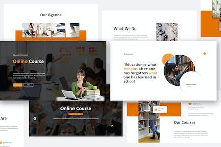 Online Course Keynote Presentation