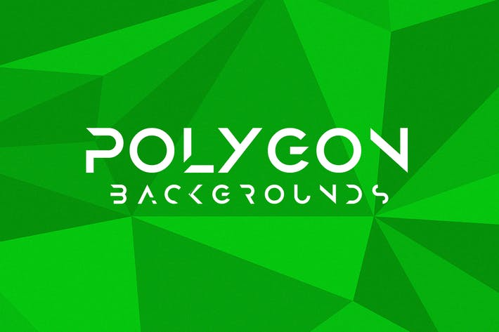 Cover Image For Abstract Flat Polygon Backgrounds