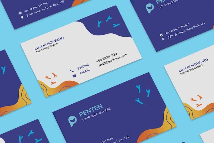 Thumbnail for Modèle de carte de visite pour enfants PSD
