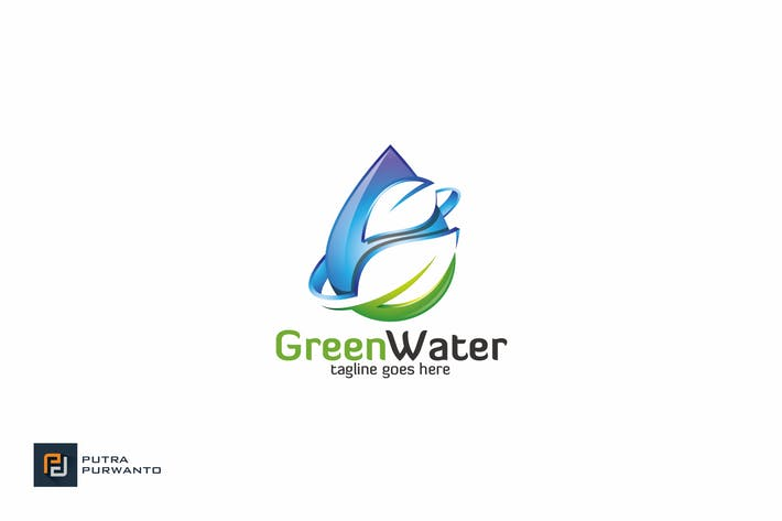 Thumbnail for Green Water - Logo Template