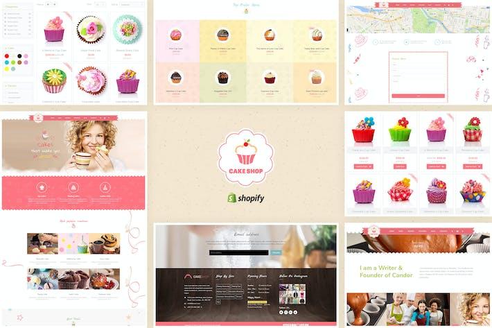 Thumbnail for Pastelería - Shopify Tema para Panadería y Cafe