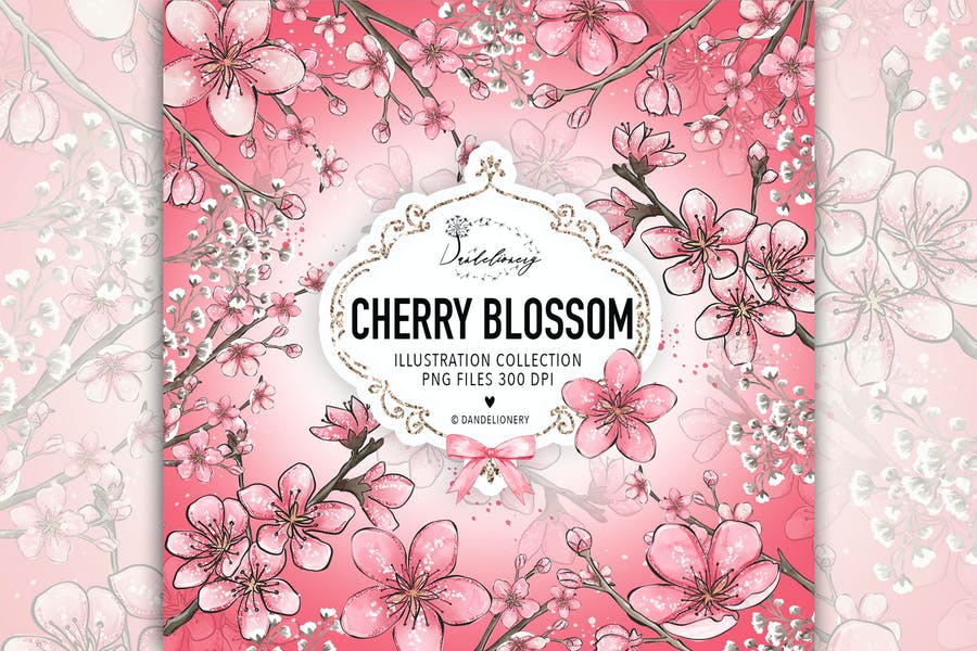 Cherry Blossom design - product preview 0