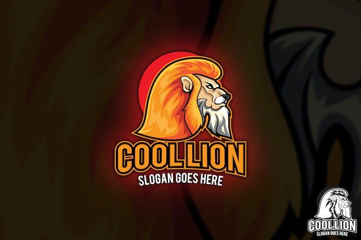 Thumbnail for Прохладный талисман с Логотип Lion Вектор