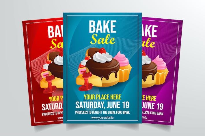 Thumbnail for Bake Sale Flyer Template
