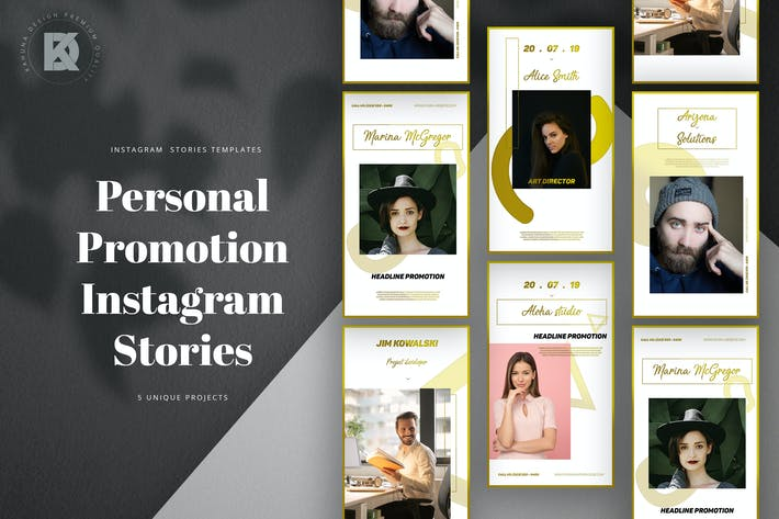 Cover Image For Personal CV Promotion Instagram Stories