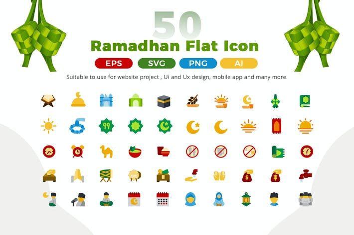 Thumbnail for Ramadan Icon Pack