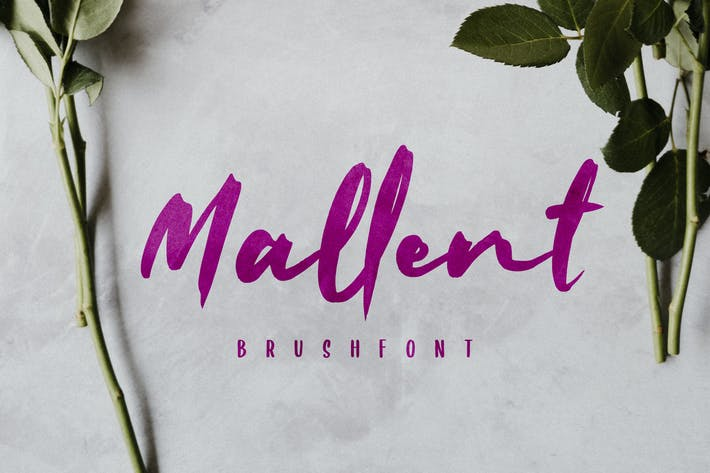 Thumbnail for Mallent Font