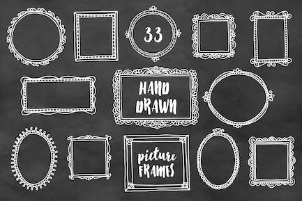 Hand Drawn Picture Frames