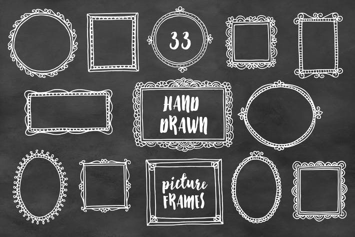 Thumbnail for Hand Drawn Picture Frames