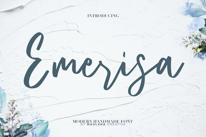 Thumbnail for Emerisa Modern Brush Script