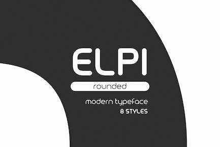 Elpi Rounded - Modern Typeface