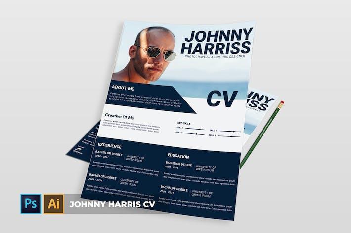 Thumbnail for Johnny Harris   CV & Resume