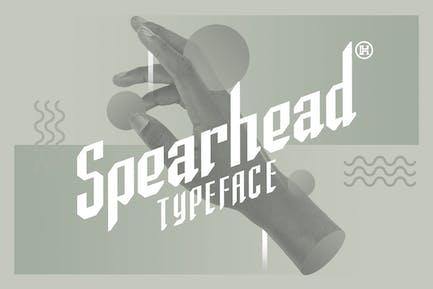 Spearhead Typeface|Sport Italic Font