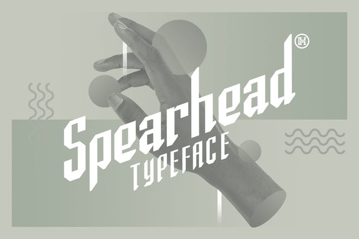 Thumbnail for Spearhead Typeface|Sport Italic Font