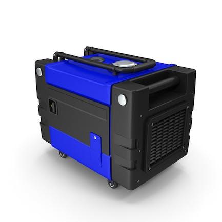 Tragbarer Generator Blau
