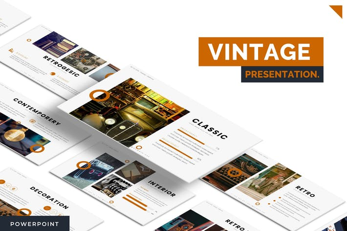 Thumbnail for Vintages - Powerpoint Template